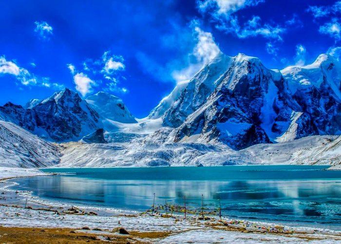 Sikkim gurudongmar lake pictures