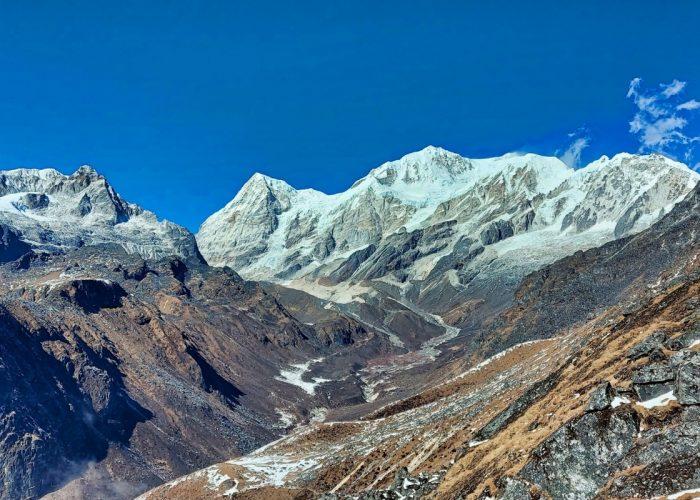Mountain view Dzongrilla Pass Sikkim