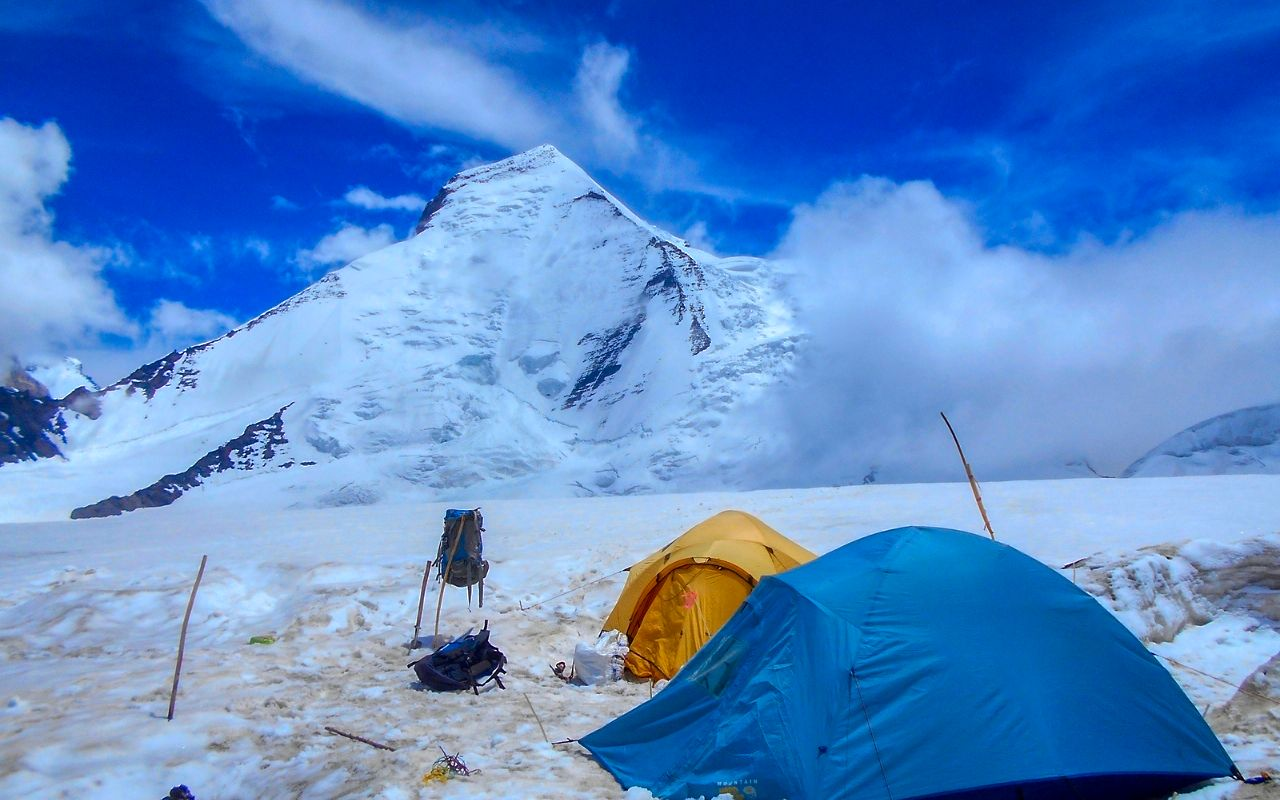Sikkim mountaineering pictures