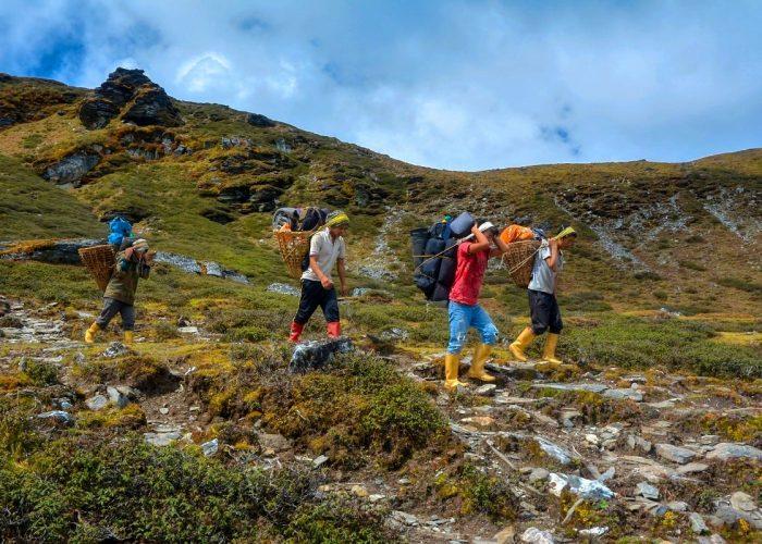 Uttarey to yuksom round trek photos
